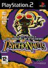Cartula oficial de de Psychonauts para PS2