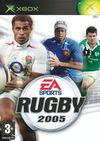 Cartula oficial de de Rugby 2005 para Xbox