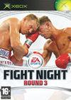 Cartula oficial de de Fight Night Round 3 para Xbox