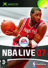 Cartula oficial de de NBA Live 07 para Xbox
