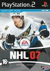 Car�tula oficial de de NHL 07 para PS2