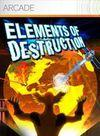 Car�tula oficial de de Elements of Destruction para Xbox 360