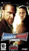 Car�tula oficial de de WWE Smackdown! vs RAW 2009 para PSP