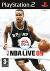 Cartula oficial de de NBA LIVE 09 para PS2