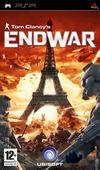 Cartula oficial de de Tom Clancy's EndWar para PSP