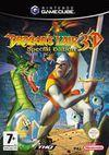 Cartula oficial de de Dragon's Lair 3D para GameCube