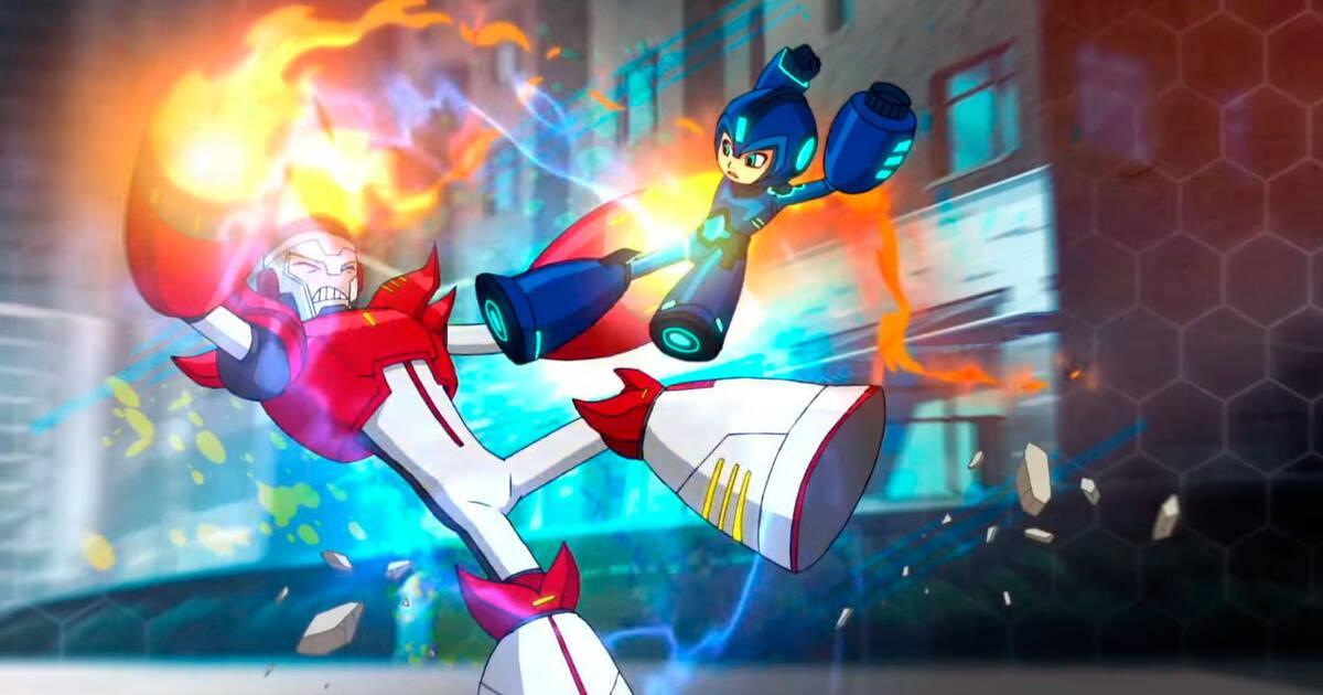 Primer tr iler de la serie animada de mega man vandal for Megaman 9 portada