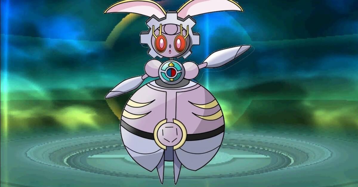 Magearna Pokemon Qr Images Pokemon Images