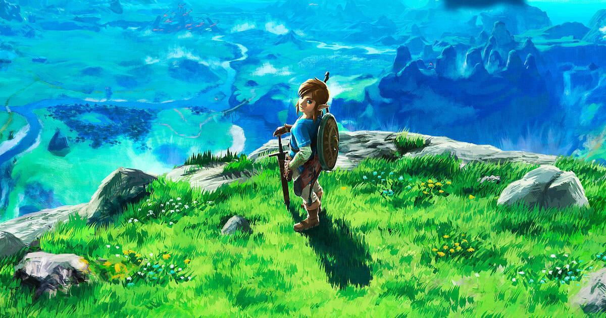 Resultado de imagen para the legend of zelda breath of the wild ambiente