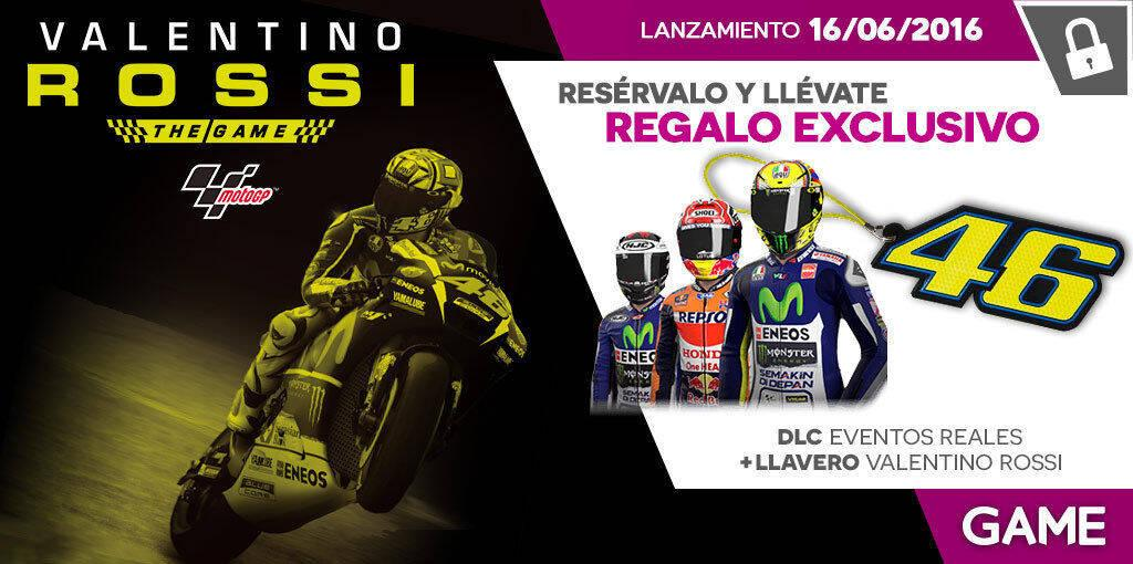 GAME detalla sus incentivos por reserva para Valentino Rossi The Game - Vandal