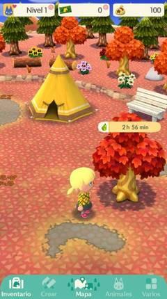 Cómo se recoge fruta Animal Crossing Pocket Camp
