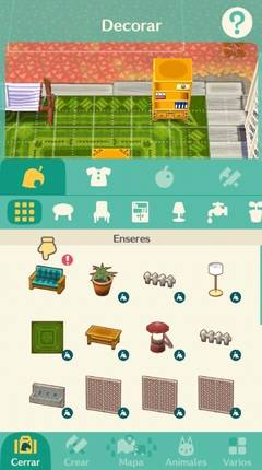 Cómo se decora la parcela y autocaravana Animal Crossing Pocket Camp