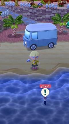 Cómo pescar en Animal Crossing Pocket Camp