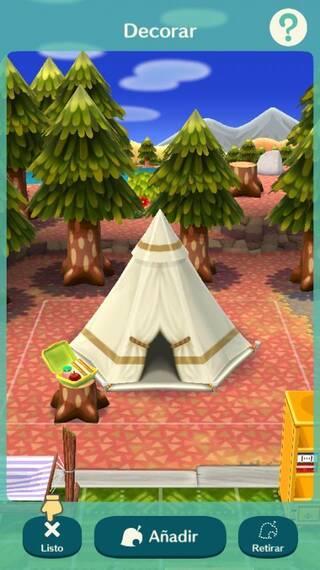 Instalaciones Animal Crossing Pocket Camp