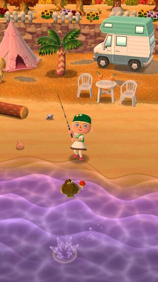 Peces Animal Crossing Pocket Camp