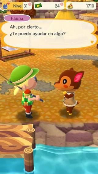 Fauna Animal crossing Pocket Camp
