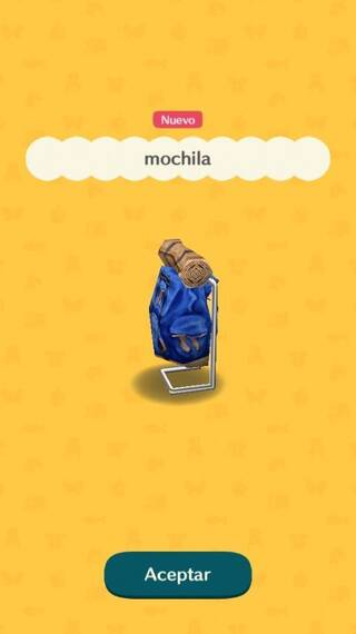 Mochila Animal Crossing Pocket Camp