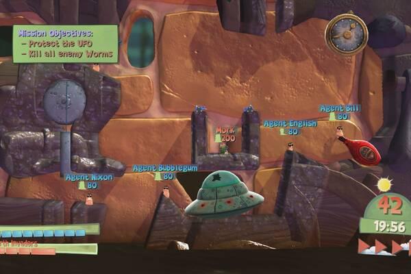 Worms Battlegrounds recibe en Xbox One nuevos contenidos
