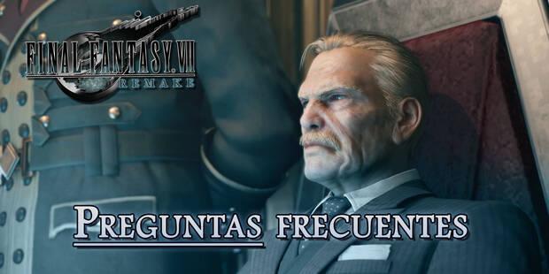 Preguntas frecuentes en Final Fantasy VII Remake