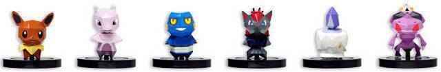 Nuevas figuras de Pokémon Rumble U confirmadas