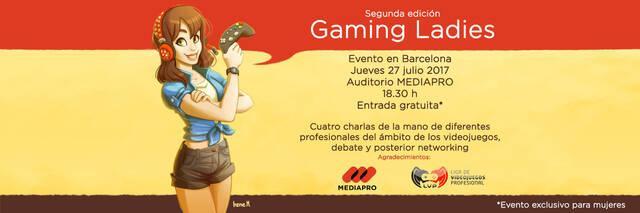 La segunda edición de Gaming Ladies ya tiene nueva fecha