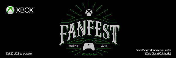 Xbox FanFest vuelve a Madrid el 20 de octubre con Xbox One X como reclamo