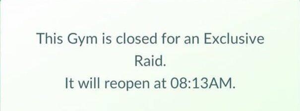 Pokémon GO parece haber incluido Incursiones exclusivas