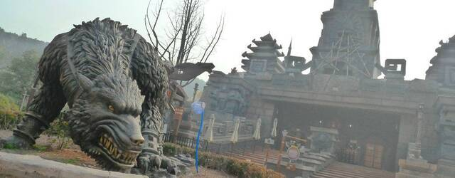 Fotograf�as del parque 'inspirado' en World of Warcraft y Starcraft