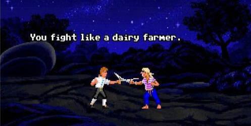 El duelo de espadas con insultos de Monkey Island, en tu navegador