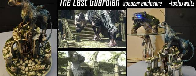 Crean una carcasa de The Last Guardian para altavoces