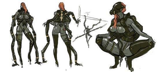 Nuevas ilustraciones de Metal Gear Rising: Revengeance