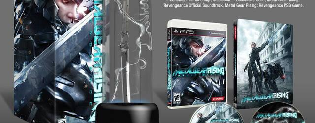 Konami deja ver la edici�n limitada de Metal Gear Rising: Revengeance