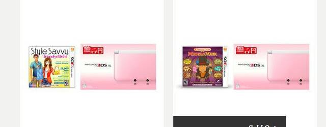 La Nintendo 3DS XL rosa llega a Am�rica