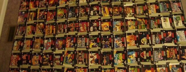 Venden todos los juegos de SNES por 25.000 d�lares
