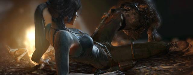 Lara Croft sigue luci�ndose en nuevas im�genes de Tomb Raider