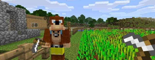 El primer pack de skins de Minecraft incluir� personajes de Rare