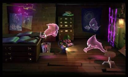 Nuevas im�genes de Luigi's Mansion: Dark Moon