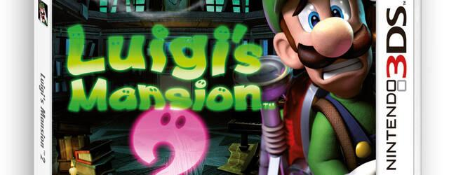 Mostrada la car�tula europea de Luigi's Mansion 2