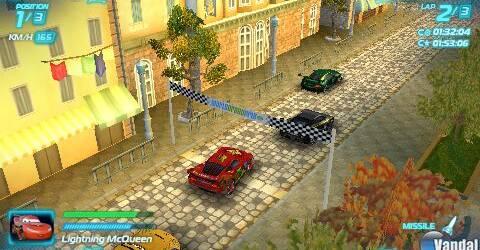 Nuevas im�genes de Cars 2: El Videojuego