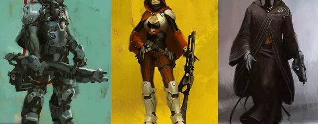 Bungie muestra la creaci�n de personajes de Destiny