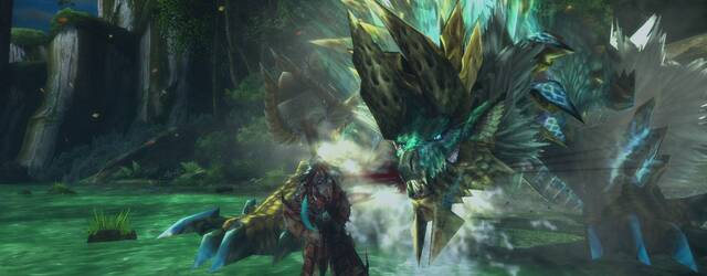 Zinogre protagoniza las nuevas im�genes de Monster Hunter 3 Ultimate