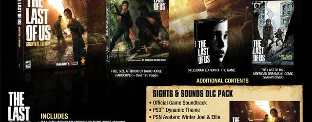 Reveladas las ediciones coleccionista de The Last of Us en Norteam�rica