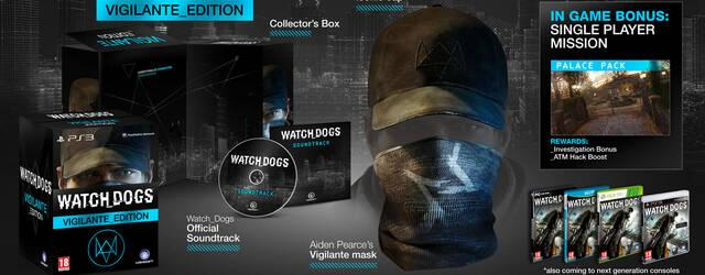 La Vigilante Edition de Watch Dogs ser� exclusiva de GameStop en Espa�a