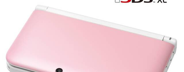 La Nintendo 3DS XL rosa volver� a Estados Unidos por el D�a de San Valent�n