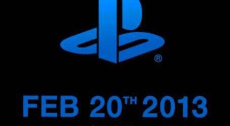 El 20 de febrero puede ser el d�a de PlayStation 4