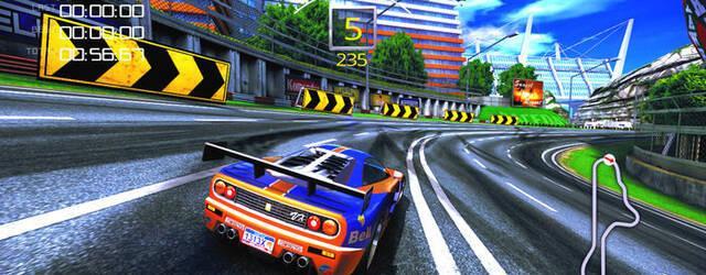 The 90's Arcade Racer, un homenaje a las recreativas de carreras de los 90