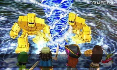 Primeras im�genes de Dragon Quest VII para Nintendo 3DS