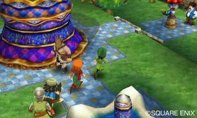 Nuevas im�genes de Dragon Quest VII