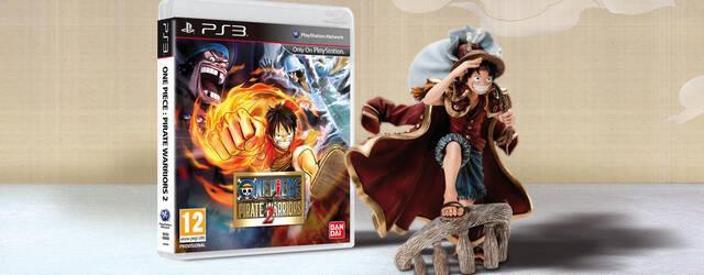 Namco Bandai muestra la figura de Luffy de la edici�n para coleccionistas de One Piece: Pirate Warriors 2