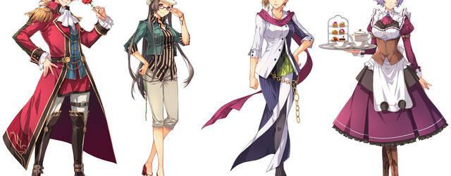 Nuevas im�genes e ilustraciones de The Legend of Heroes: Sen no Kiseki